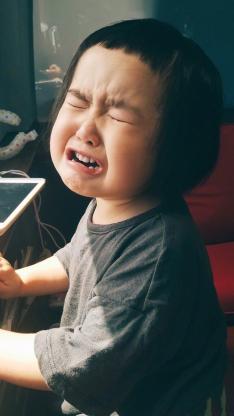 小蛮 小女孩 小网红 可爱 哭 难过