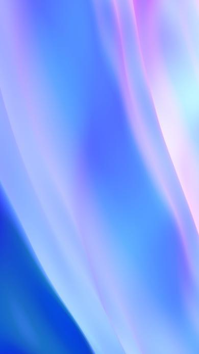 炫丽 蓝色 渐变 流动 抽象