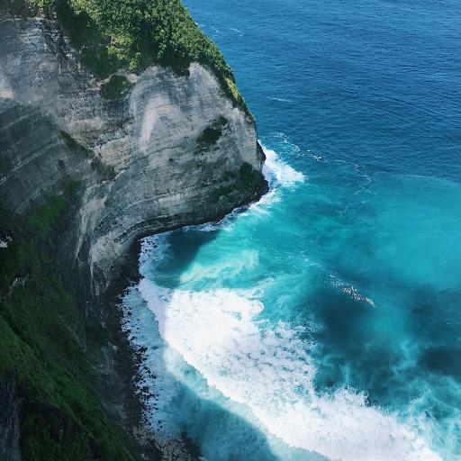 海峡 大海 海浪 海岸