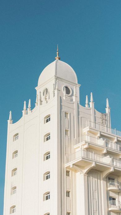 建筑 异域 洁白 城堡 设计
