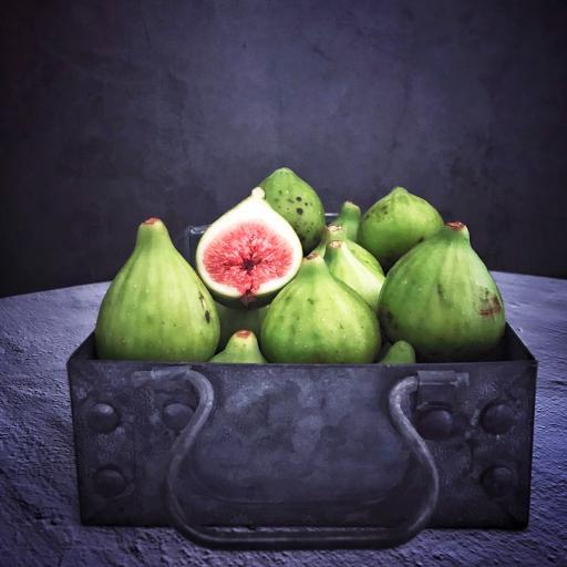水果 无花果 香甜 切开
