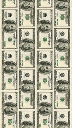 美元 纸币 钱 钞票 平铺