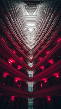 建筑 楼层 灯光 装潢