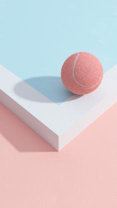 网球 运动 几何 影子