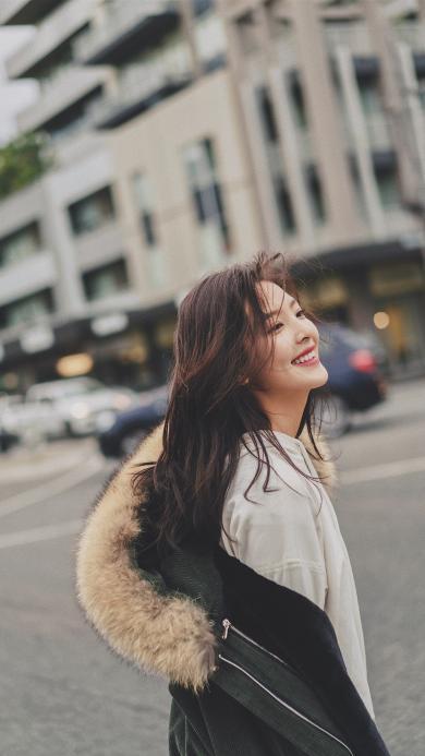 章若楠 演员 网红 明星 艺人 街拍