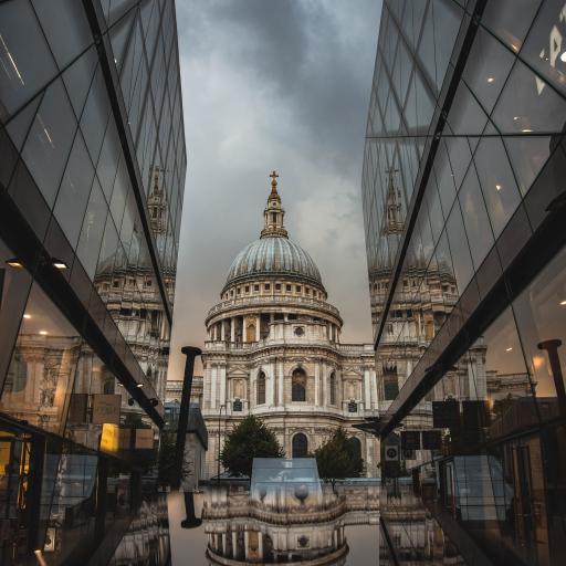 伦敦 圣保罗 大教堂 建筑