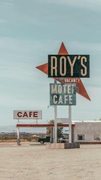 咖啡店 招牌 cafe 欧美 郊外