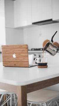 静物 MacBook 咖啡 笔记本