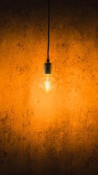 灯光 灯泡 钨丝 垂吊