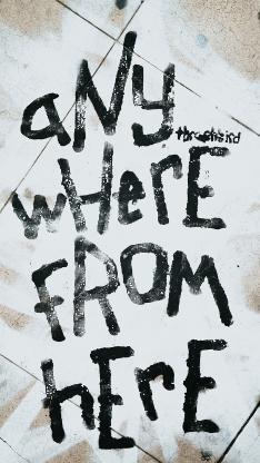涂鸦 anywhere from here
