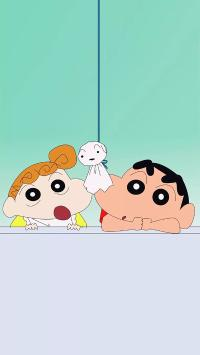 蜡笔小新 晴天娃娃 动画片 卡通
