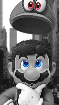 超级玛丽 大叔 帽子 电子游戏