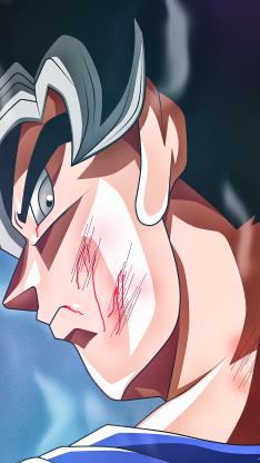 龙珠超 侧颜 二次元 动画 伤痕