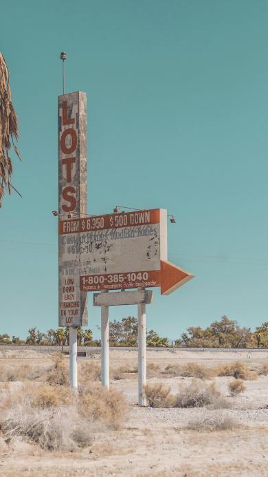 广告牌 指示牌 箭头 郊外