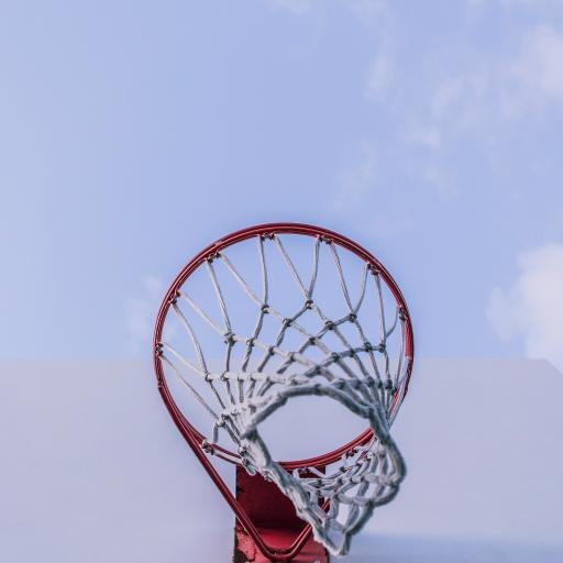 球框 篮球 运动 蓝天