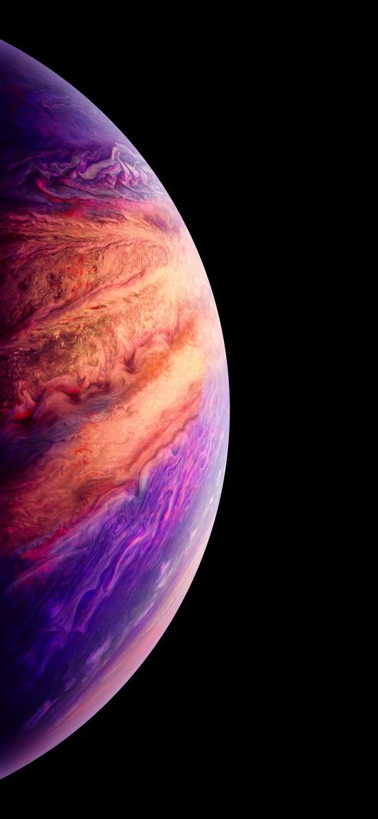 星球 宇宙 弧形 漸變