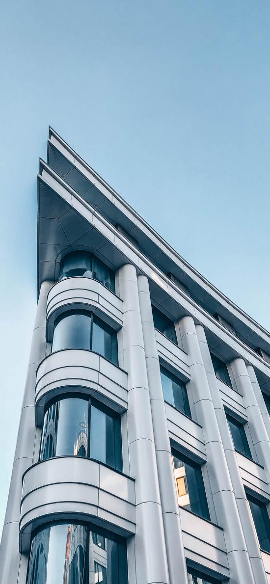 建筑 设计 窗台 蓝天