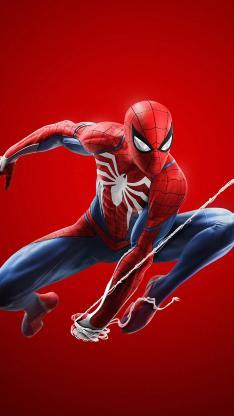 蜘蛛侠 超级英雄 欧美 漫威 红色