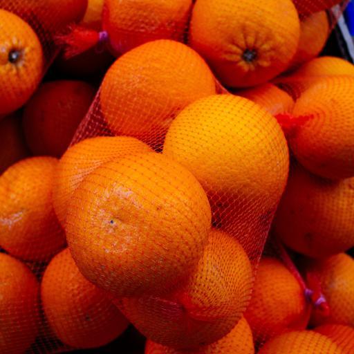 水果 橙 网袋  饱满