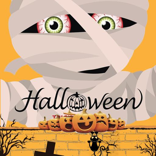 插画 万圣节 Halloween 南瓜