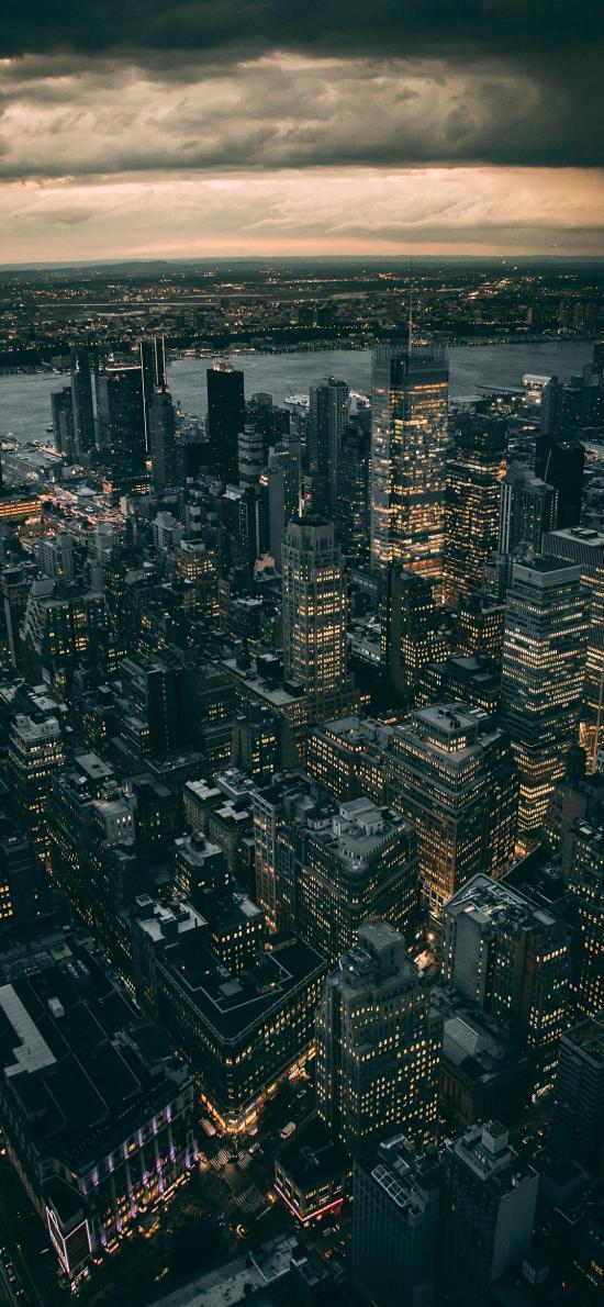 城市 建筑 高楼大厦 灯光