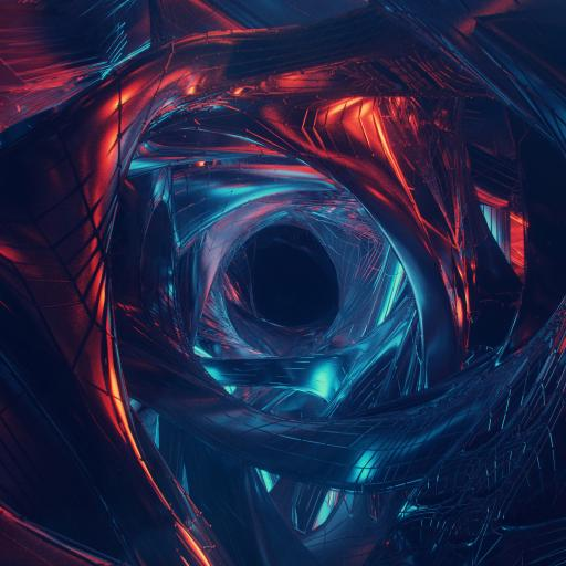 空间 抽象 圆 炫酷