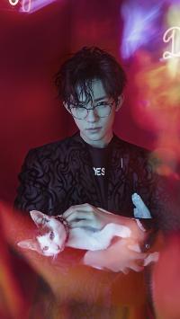 易烊千玺 演员 歌手 tfboys 写真 猫咪