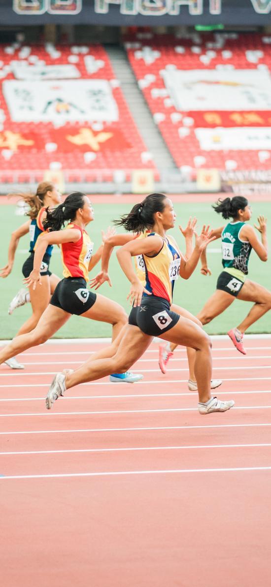 赛跑 竞赛 跑步 运动