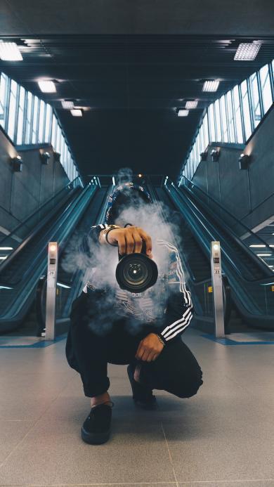 摄影 烟雾 镜头 帅气