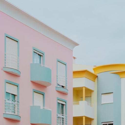 建筑 色彩 现代 楼房 房屋
