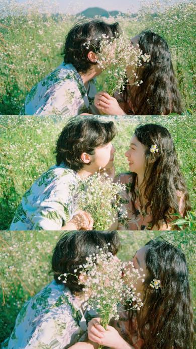 情侣 爱情 浪漫 亲吻