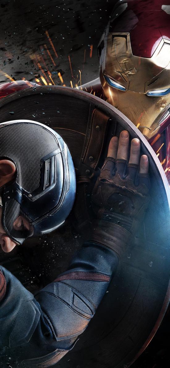 美国队长 钢铁侠 电影 超级英雄 欧美
