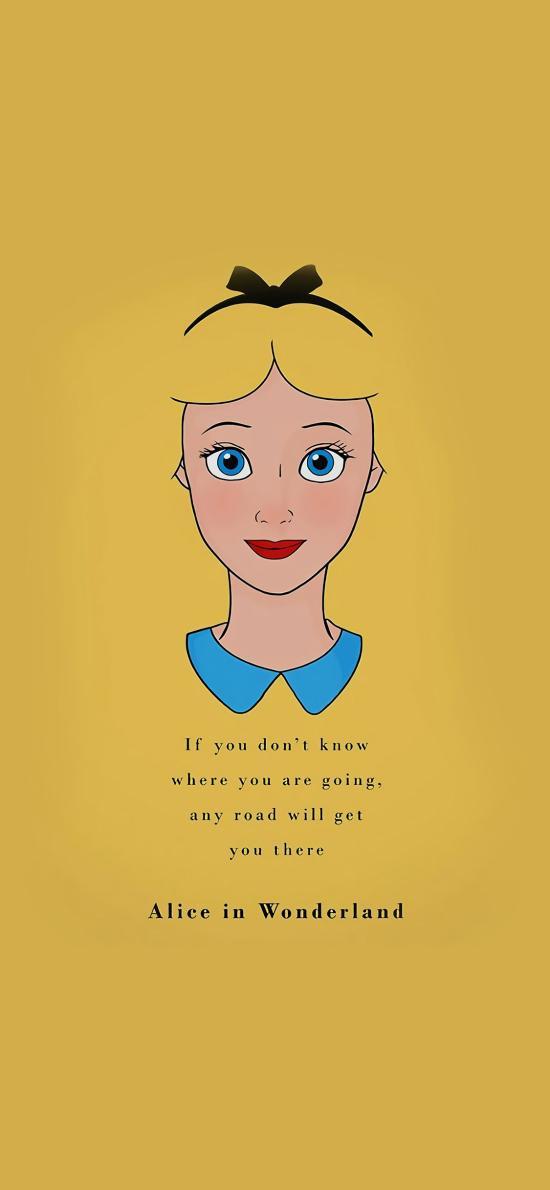 迪士尼 公主 爱丽丝 Alice in wonderland