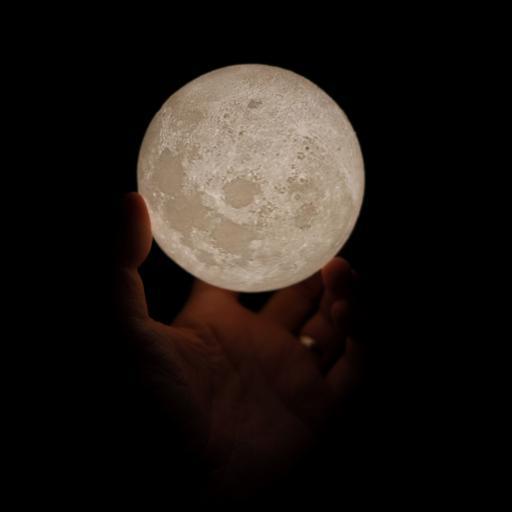 灯饰 造型 月球灯 照明
