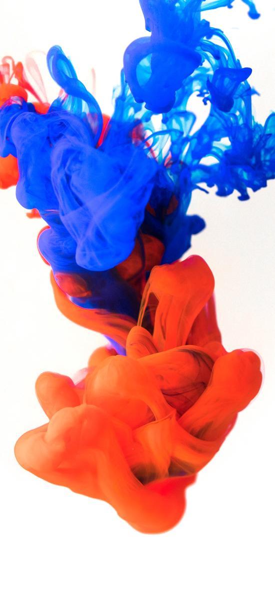 渲染 颜料 融合 色彩