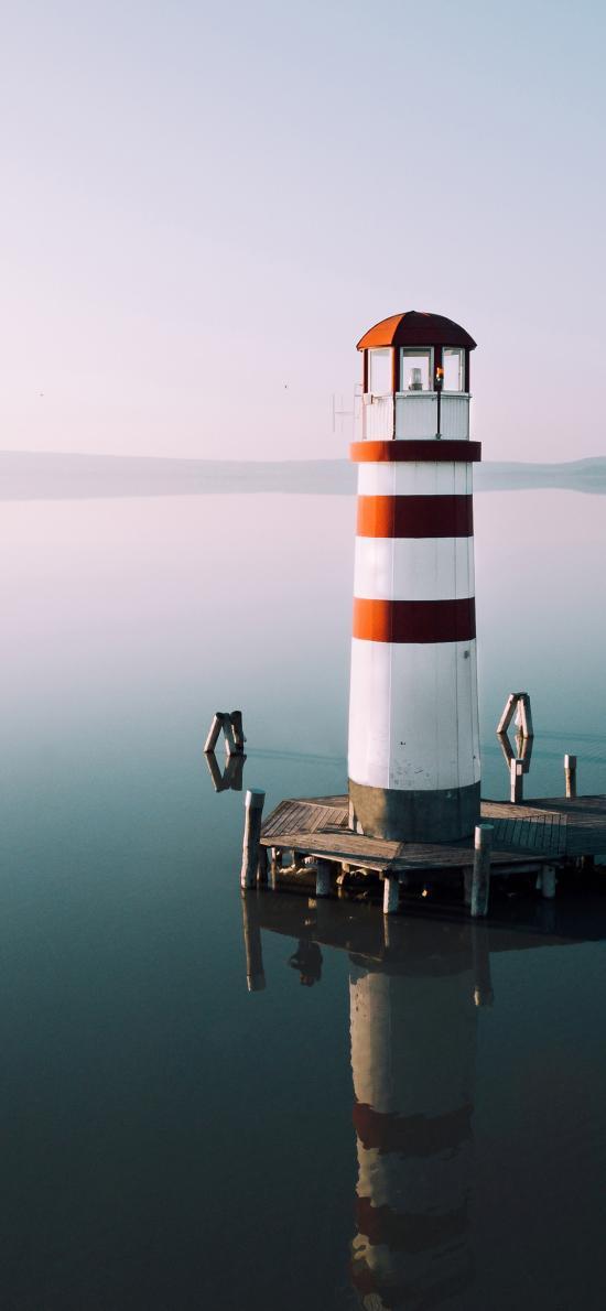 海岸 灯塔 建筑 信号塔