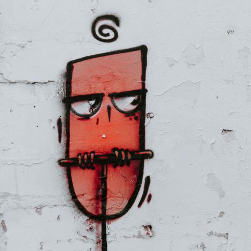 墙绘 街头艺术 猫头鹰 色彩
