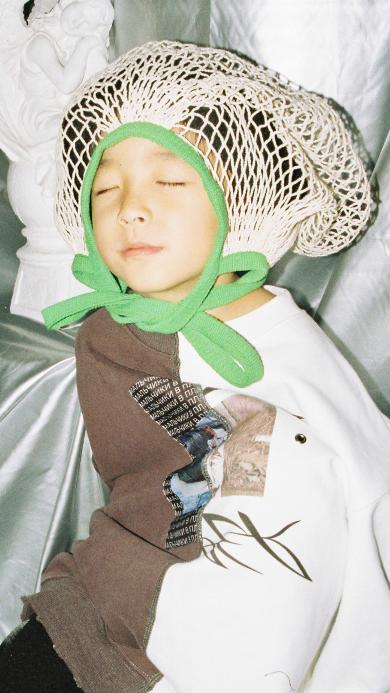 小童模 男孩 写真 可爱 网兜