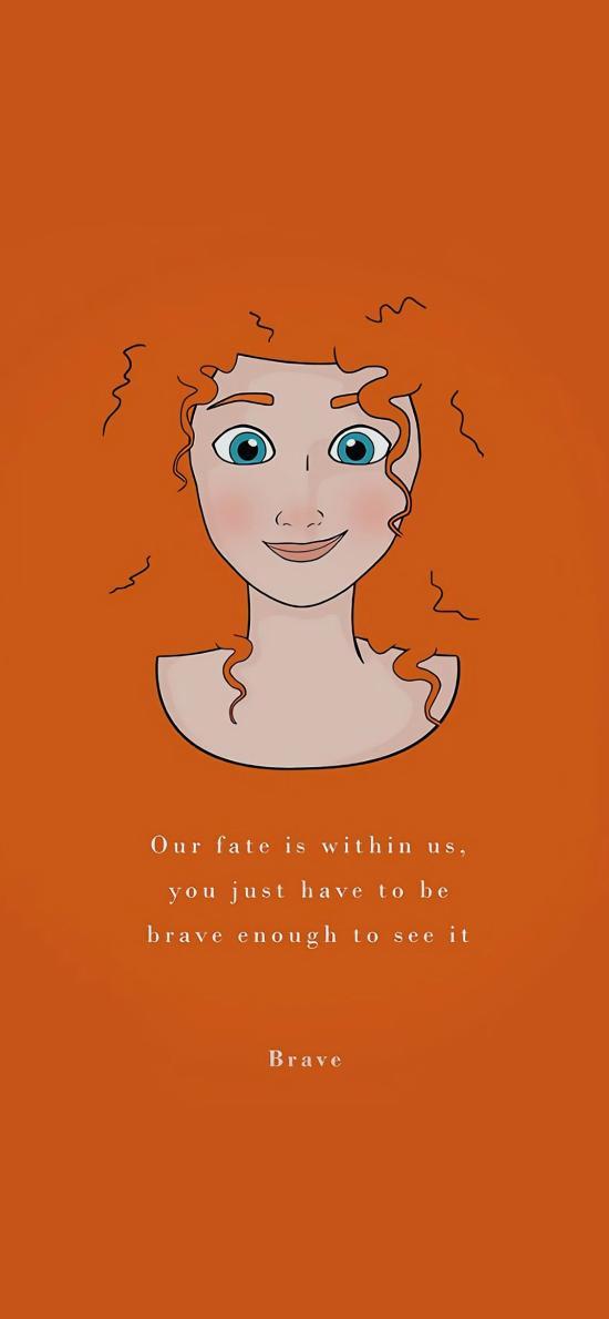 迪士尼 勇敢传说 梅莉达公主