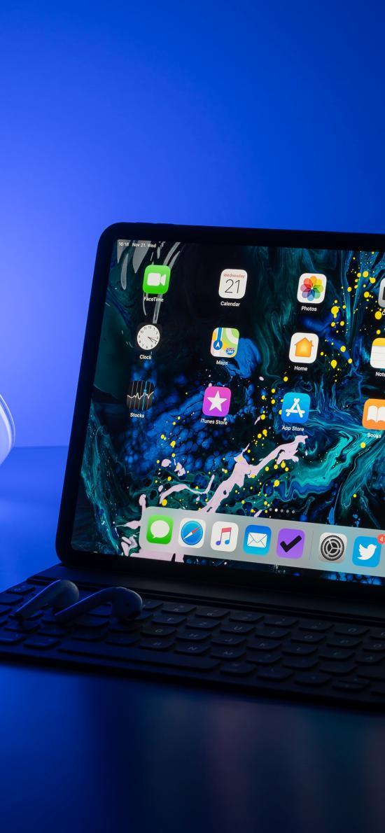 智能键盘 iPad Pro 平板
