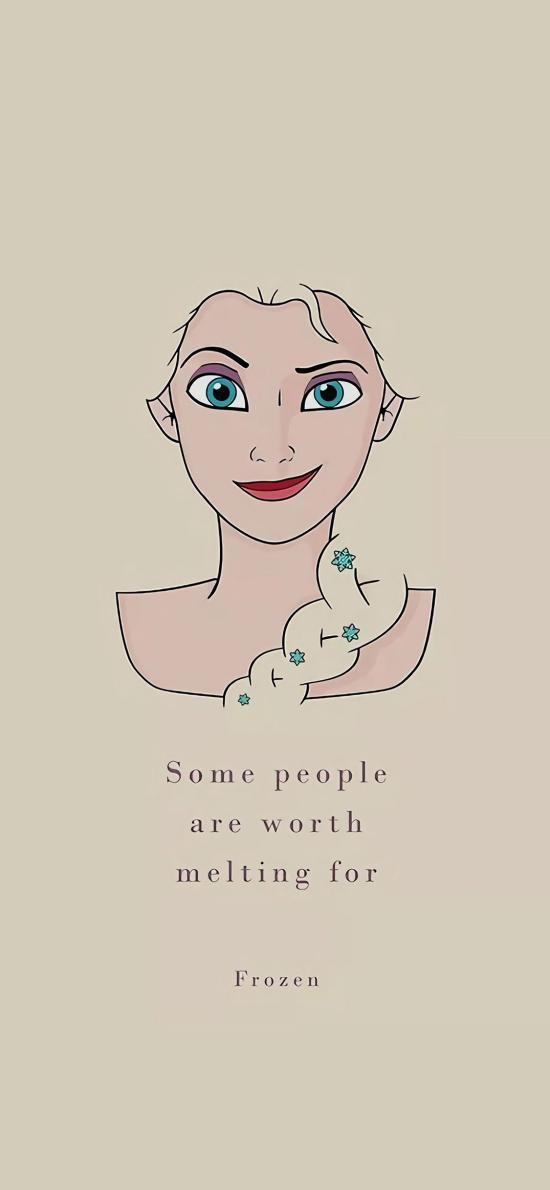 迪士尼 冰雪奇缘 Elsa公主 frozen