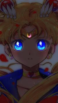 美少女战士 漫画 眼睛 月牙