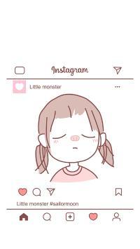 女孩 猪猪 粉色 Instagram 照片