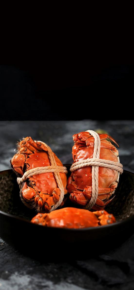 食材 河鲜 大闸蟹 水产