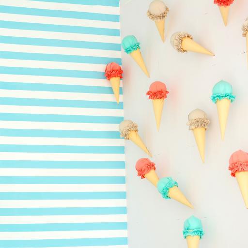 手工 冰淇淋 色彩 工艺
