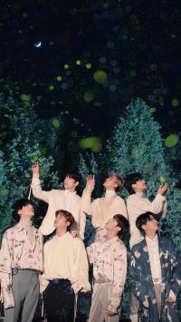 GOT7 韩国 夜空 组合 歌手 明星