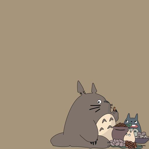 龙猫 宫崎骏 漫画 可爱 日本
