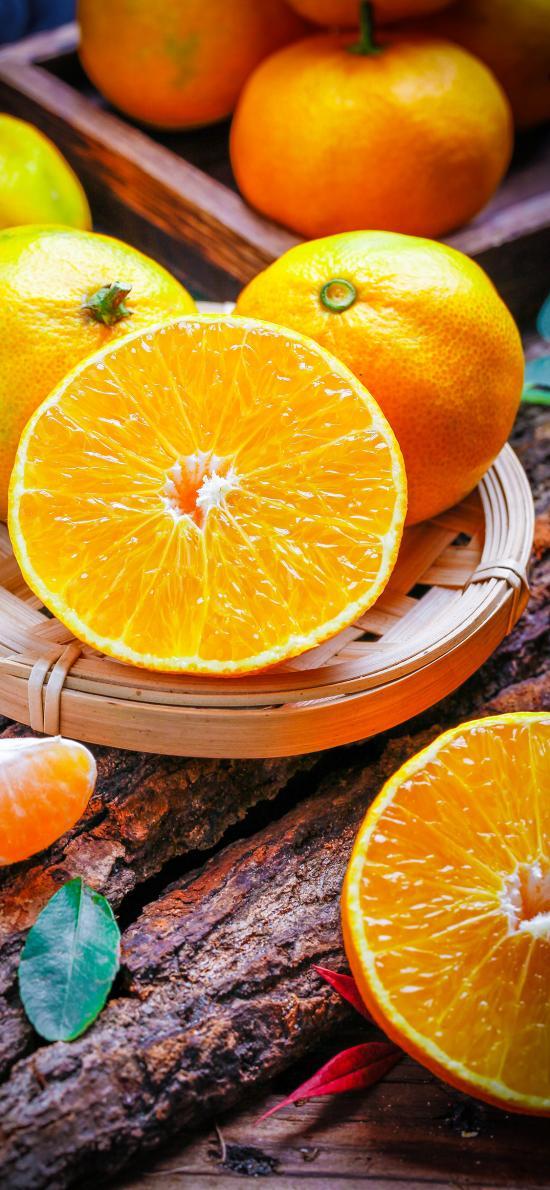 水果 新鲜 香橙 皮薄 柑橘