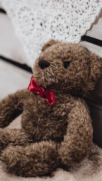 熊娃娃 布娃娃 玩具 蝴蝶结