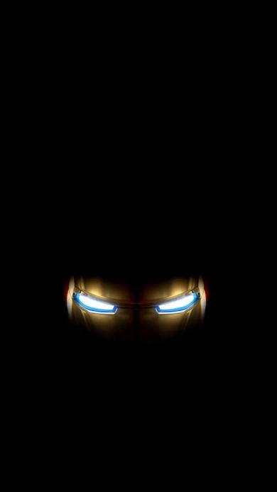 钢铁侠 漫威 英雄 眼部